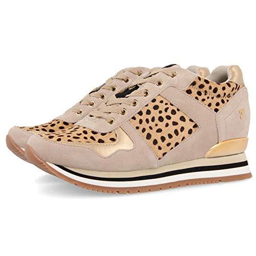 Gioseppo ANSTY, Zapatillas para Mujer, Multicolor (Leopardo Leopardo), 38 EU