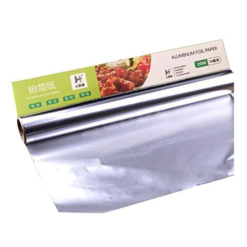 DALL Aluminium folie Keuken Tin Foil Hittebestendige Grill Oven Voedsel Wrap Barbecue Vlees
