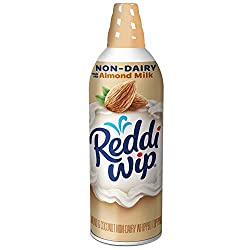 Reddi-wip Non-Dairy Made with Almond Milk Vegan Whipped Topping, Keto Friendly, 6 oz.