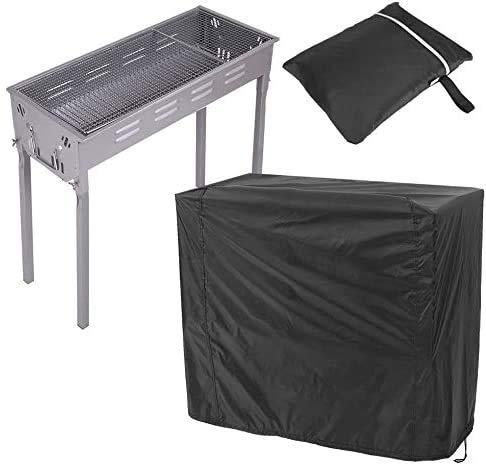Haofy Couvercle de Barbecue Portable-Housse de Barbecue étanche à l'eau et à la poussière Couvercle de Barbecue Ouvert Barbecue Protecteur