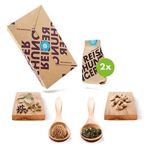 Reishunger Indisch Biryani Box (2–4 Personen) Original Zutaten für Reispfannen-Gerichte – Perfekt auch als Geschenk