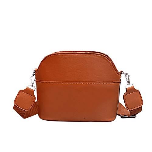 Bfmyxgs Stylische Tasche für Frauen Mädchen Umhängetasche Fashion Trends Wild Big Shell Bag Crossbody Tasche Rucksack Schultertasche Handtasche Totes Münze Tasche Taille Beutelpackung Brust