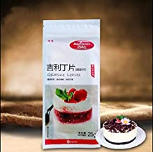 Pastry Tool - Gelatine Tablets 25g Edible Gelatin Fish Film Geely Baking Mousse Pudding Jelly Powder Raw Materials - Pastry Tools Baking Baking Pastry Brand Powder Cake Decor Edible Jelly Syrin