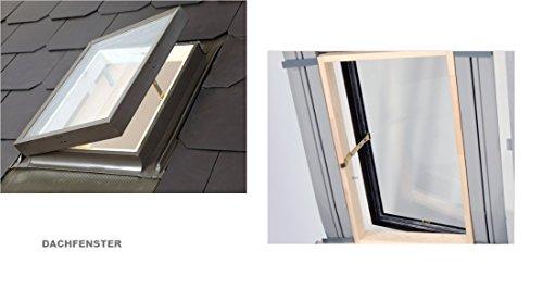 Dachfenster Ausstiegsfenster Dachausstieg Ausstieg Dachluke Aussteiger 45x55 nach oben oder seitlich zu öffnen
