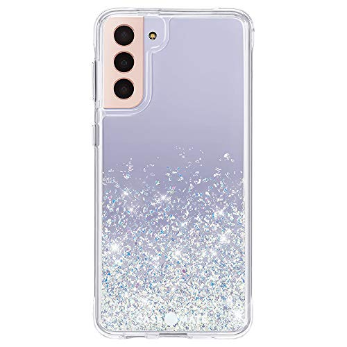 Case-Mate - Twinkle Ombre - Case for Samsung Galaxy S21 Plus 5G - Glitter Foil Elements - 10 ft Drop Protection - 6.7 inch - Stardust