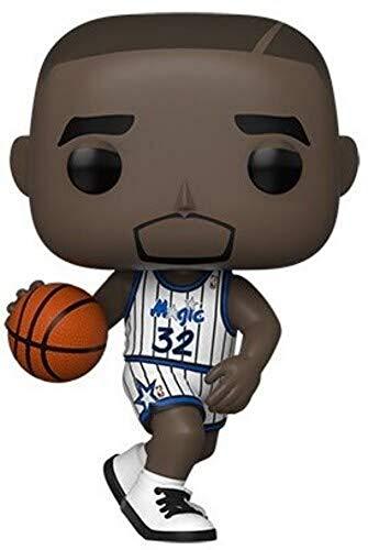 Funko - Pop! NBA: Legends - Shaquille O'Neal (Magic home) Figura Coleccionable, Multicolor (49304)