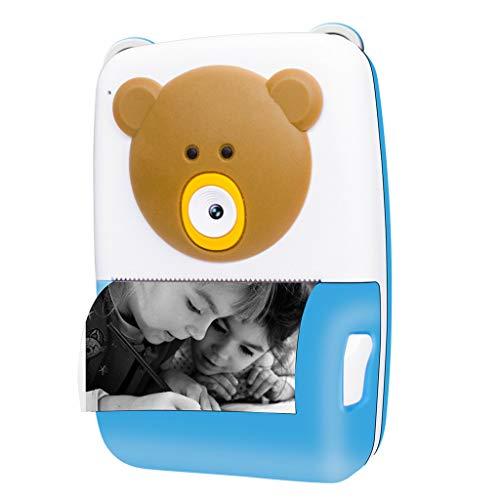 ZCFXGHH Kinder-Sofortbild-Kamera 2,4-Zoll-Videogerät 1080P HD Kinder können Fotos drucken Kinder Sofortbild-Kamera Film-Kamera