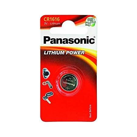 Panasonic 3 Stück Knopfzellen Cell Power Cr1616 Lithium 3 V 0 55 Mah Bürobedarf Schreibwaren