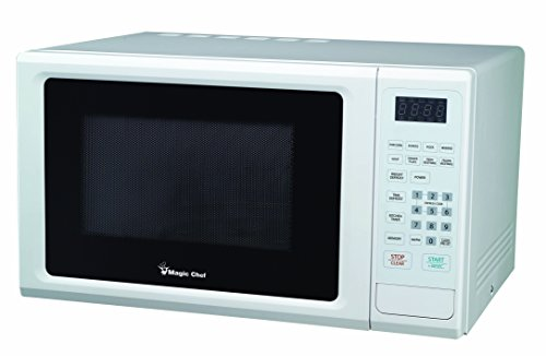 Magic Chef Mcm1110W 1.1 Cubic Feet 1,000-Watt Microwave With Digital Touch, White