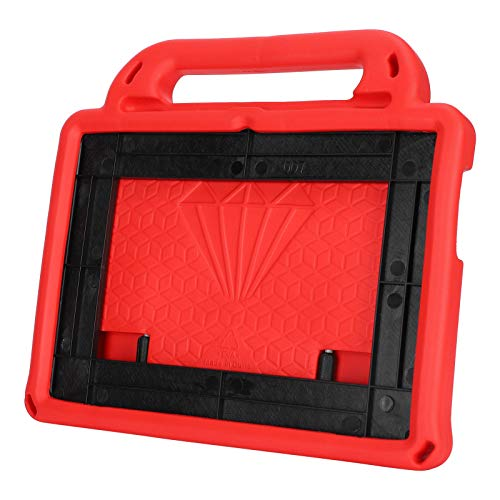 Kafuty-1 Tablet Cover Tablet Protective Cover EVA Shockproof Child Friendly for Tablet(Scarlet)
