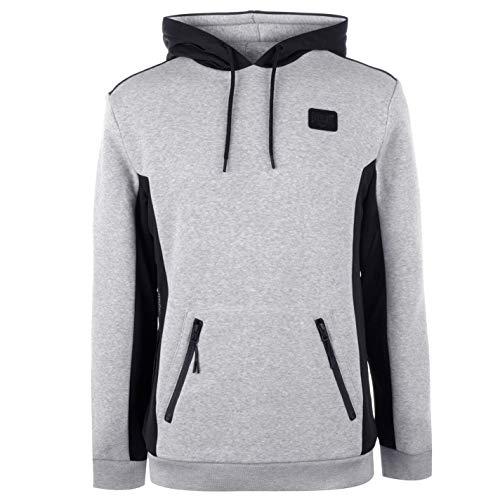 Everlast Premium Mock Zip - Chaqueta con capucha para hombre Gris Marl M