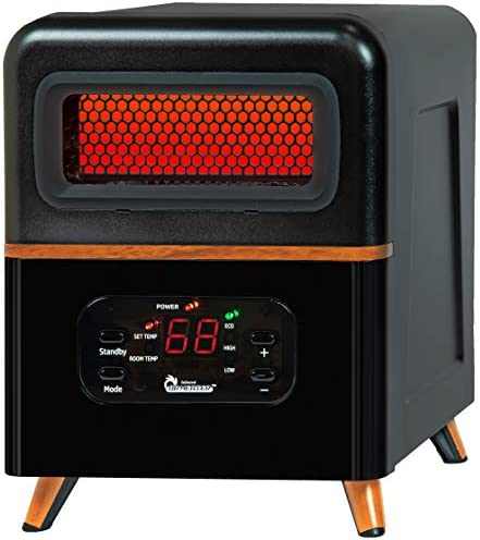 Dr Infrared Heater DR 978 Dual Heating Hybrid Space Heater 1500W with remote more Heat product image