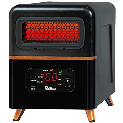 Dr Infrared Heater DR-978 Infrared Heater, Hybrid, Black