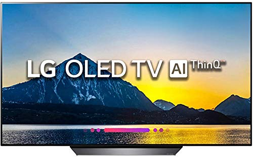 LG 165.1 cm (65 inches) OLED65B8PTA 4K OLED Smart TV (Black)