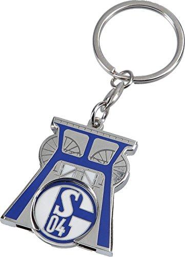 FC Schalke 04 Schlüsselanhänger Zeche mit Einkaufschip