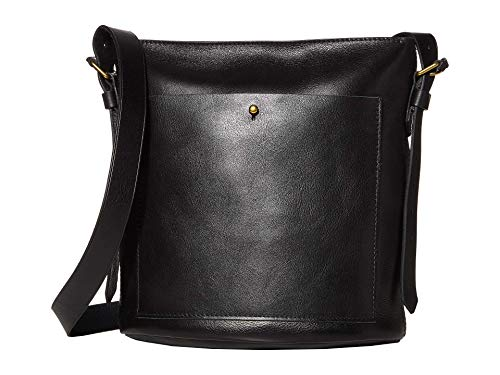 Madewell Classic Transport Bucket Bag True Black One Size