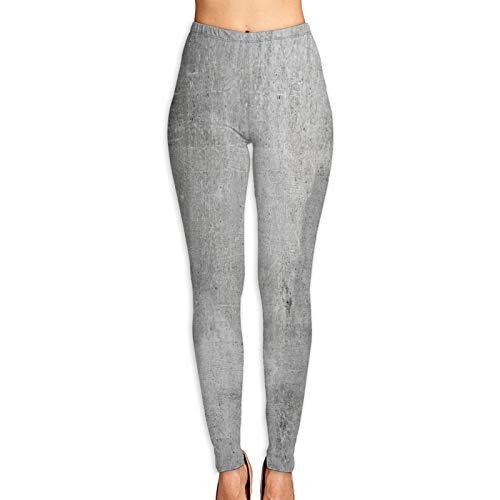 Benle Pantalones de Yoga para Mujer,Textura de Fondo Antiguo Muro de hormigón...