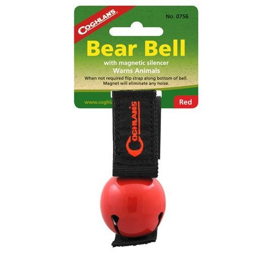 Coghlans ('s Bär Glocke mit Schalldämpfer, Unisex, CL Magnetic #0756, rot