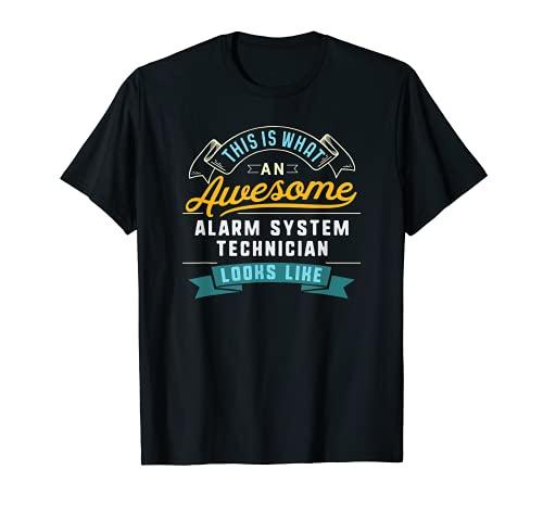 Divertido sistema de alarma técnico camisa impresionante ocupación de trabajo Camiseta