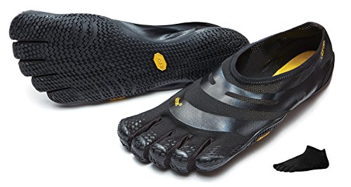 Vibram FiveFingers EL-X Men + Zehensocke, Size:46;Color:Black