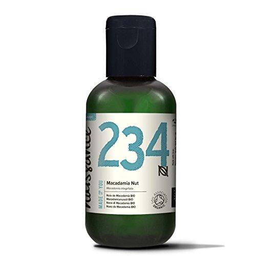 Naissance Aceite Vegetal de Macadamia BIO 100ml - 100% puro, prensado en frío, certificado ecológico, vegano y no OGM …