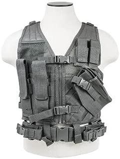 VISM CTVC2916U Tactical Vest Childrens/urban Gray