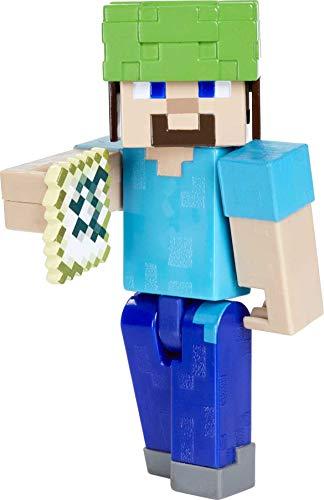 Minecraft Steve con accesorios Figura articulada de juguete