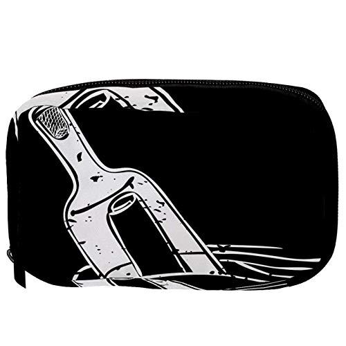 Bolsas de cosméticos para la deriva de la botella práctica de artículos de tocador, bolsa de viaje Oragniser bolsa de maquillaje para mujeres y niñas