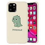 Pnakqil Funda para Apple iPhone 6 / 6S Patrón Silicona Cárcasa, Suave TPU Gel Antigolpes de Protector Piel Case Cover Bumper Case con Dibujos Diseño, Carcasa para iPhone 6S, Dinosaurio Lindo