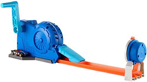 Hot Wheels FLL02 - Track Builder Turbostarter inkl. 1 Spielzeugauto, Spielzeug ab 6 Jahren