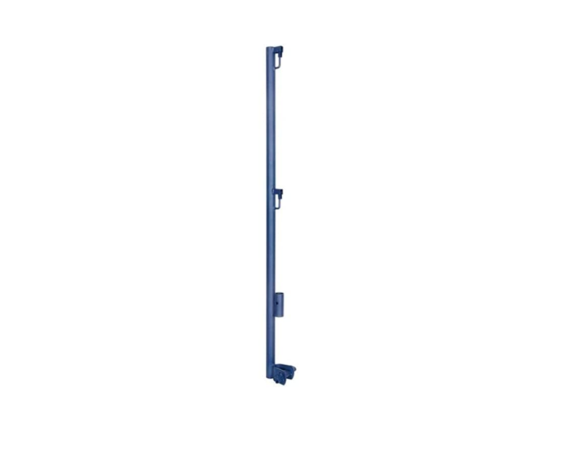 Metaltech M-MGPUSL Guard Rail Post with Support, Model# 4