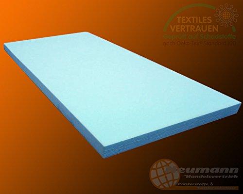 PUR RG35 Materassino in gommapiuma , Espanso, blau, 200cm x 120cm x 3cm