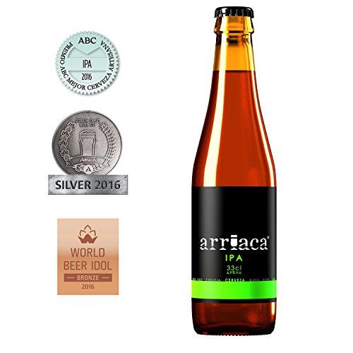 Cerveza Artesanal ARRIACA IPA (24 botellas x 33cl)