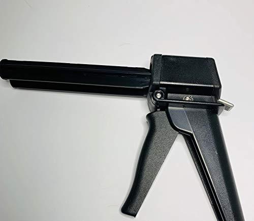 Mini Doppelkatuschenpistole für 2K Kartuschen bis 50ml / 60g Kartuschen für Kunststoffkleber, Metallkleber