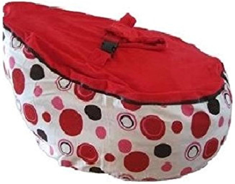 Babybooper Bean Bag, Cherry Berry Burst, 4 Count
