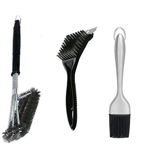 Cosoro Set of 3 BBQ Grill Brushes