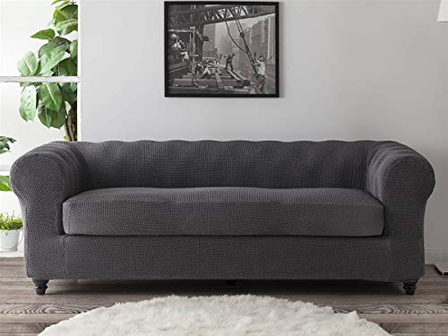 Lanovenanube - Funda sofá Chester Milan - Bielástica - 3 plazas - Color Lino C18
