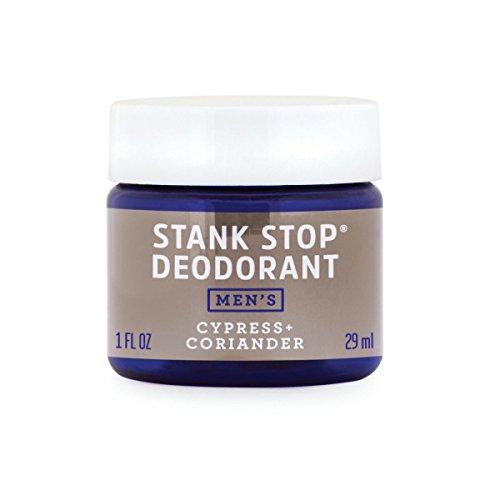 FATCO Stank Stop Natural Deodorant, Cream in a Jar, 1 oz (Scotch Pine + Coriander)