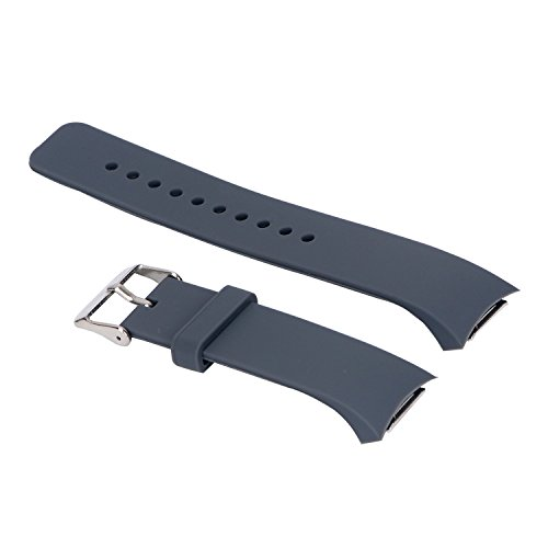 Inzopo Pulseira esportiva de silicone para Samsung Gear S2 – 7 cores