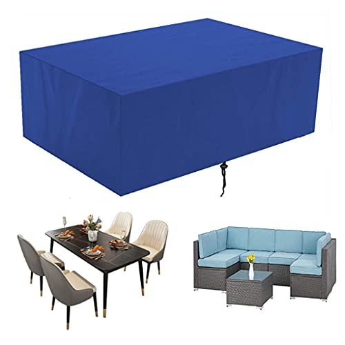 Orumrud Fundas para Muebles de Jardín Impermeables,Exterior Patio Mesa de Comedor Silla Funda Antipolvo, para Sofa de Jardin,al Aire Libre,Mesa y Sillas,Anti-UV,a Prueba de Viento