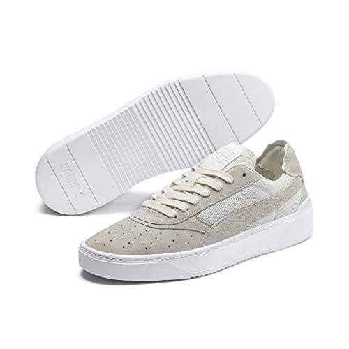 Puma Unisex-Erwachsene Cali-0 Summer Sneaker, Weiß (Whisper White-Puma White-Puma White 02), 43 EU