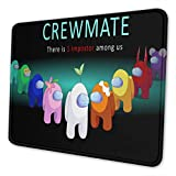 Among Us Mouse Pad Personalized Waterproof and Non-Slip Anime Mouse Pad Gaming Mouse Pad for Laptop 10x12in