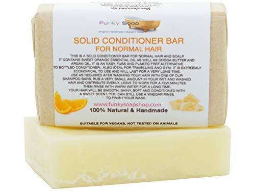 Solid Conditioner Stange für Normale Haare, 100% Natur & Handgefertigt, 1 Stück 95g