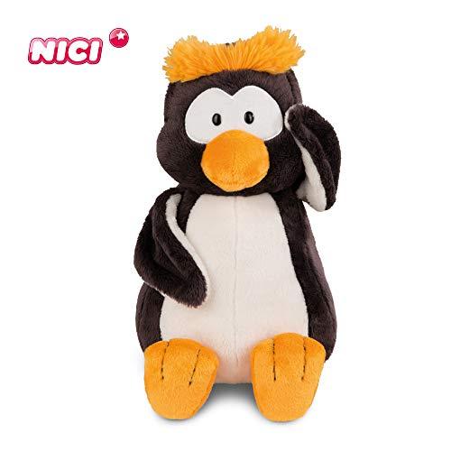 NICI Kuscheltier Pinguin Frizzy Schlenker 50 cm – Plüschtier Pinguin für Jungen, Mädchen & Babys – Flauschiges Stofftier zum Kuscheln, Spielen und Schlafen – Schmusetier für jedes Alter – 44114
