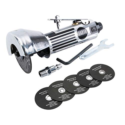"3inch Air Cut Off Tool Include 6Pcs 3"" Cut Off Wheel,Free Speed 20000RPM"