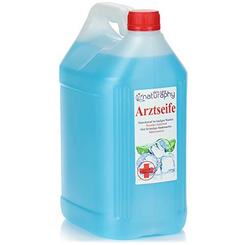 Naturaphy 5 Liter Hygiene Handseife im Kanister - Hautschonende Seife für die Hände - Hand-Waschlotion