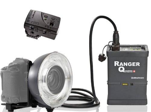 Elinchrom Ranger Quadra Power Pack mit Ringblitz ECO und Skyport Funkauslöser E10294