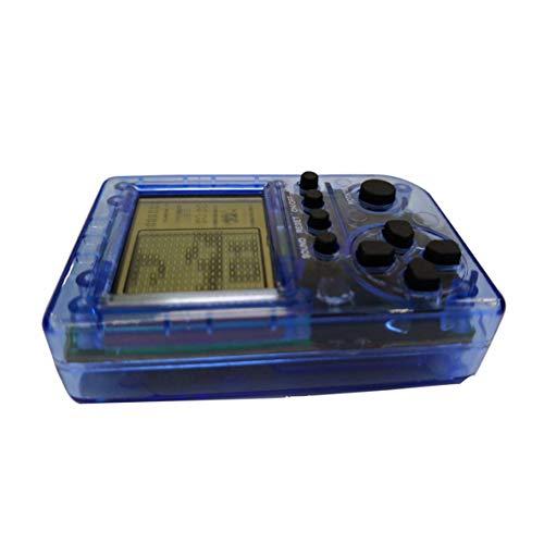 Rouku Exquisit gestaltetes langlebiges KincoBa Mini-Schlüsselbund-Anhänger-Spiel Tetris-Spiel Spielzeugverpackungsspielzeug Eingebaute 26 Spiele