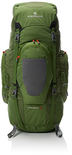 Ferrino Chilkoot, Zaino da Trekking Unisex, Verde Scuro, 75 Litri