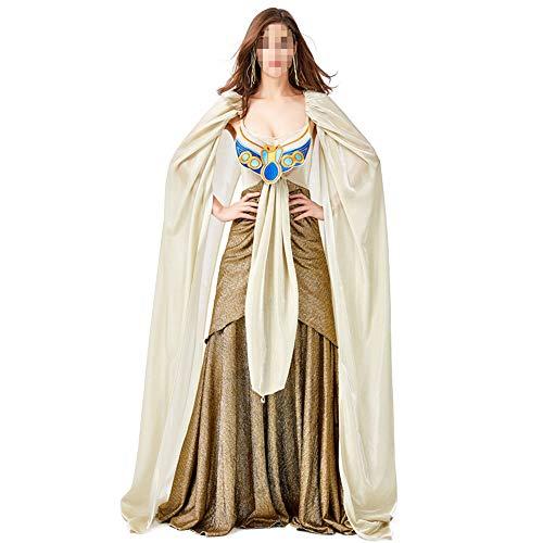 Halloween kostüm, Halloween Cosplay kostüm Halloween Cosplay Horror Kostüm,alte ägyptische Familienkostüme Cleopatra Wunderschöne Lange Röcke